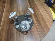 3-strahlige Deckenlampe