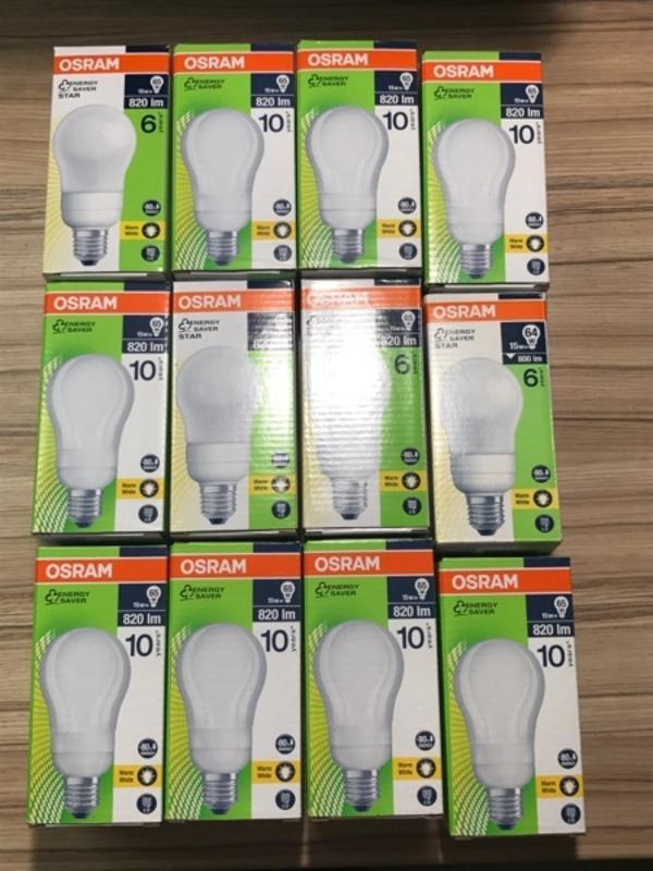 osram energiesparlampe gebraucht kaufen nur 3 st bis 70 g nstiger. Black Bedroom Furniture Sets. Home Design Ideas