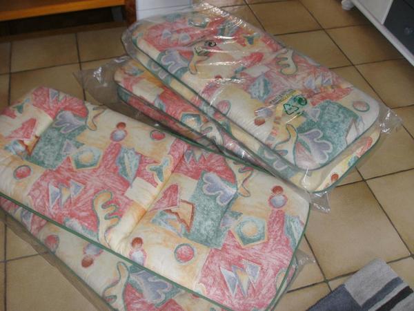 6 Polsterauflagen für Gartenstühle