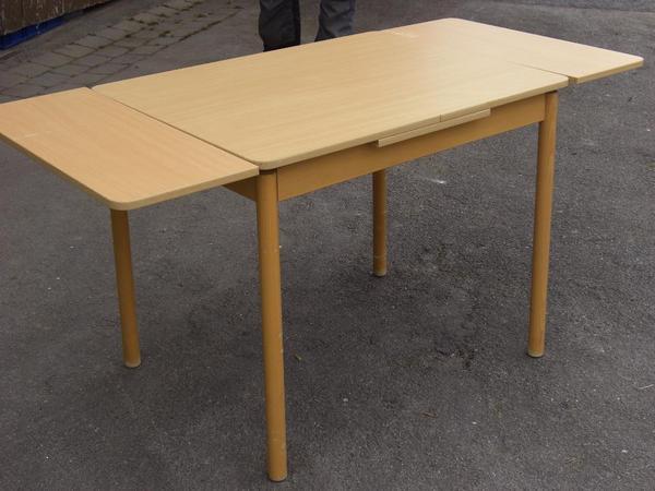 7 Buche hell Tische ausziehbar