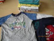 8 T-Shirts Langarm Gr 86