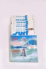 9 x Zeitschrift Surf Jahrgang