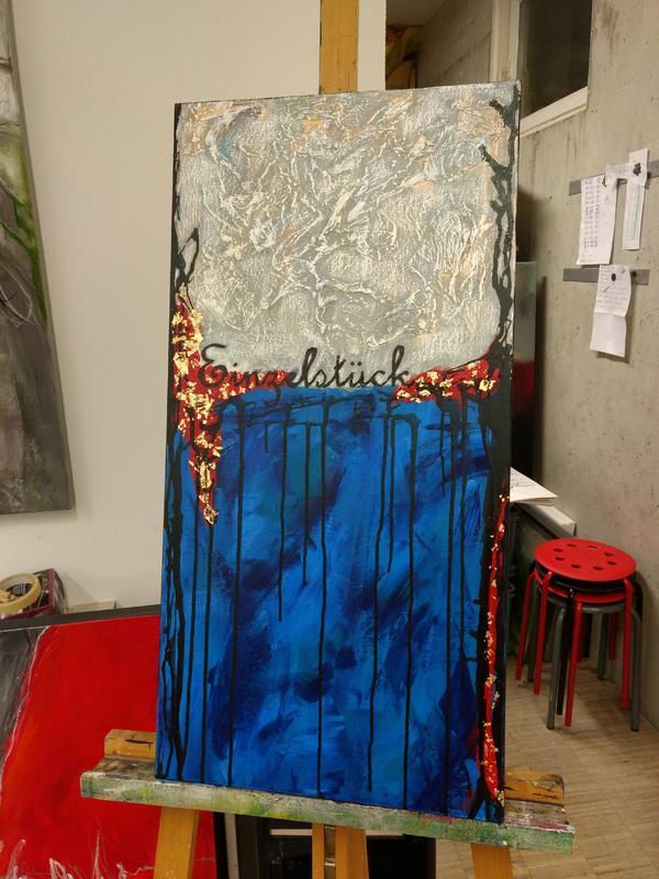 Acrylbild 40x80 cm