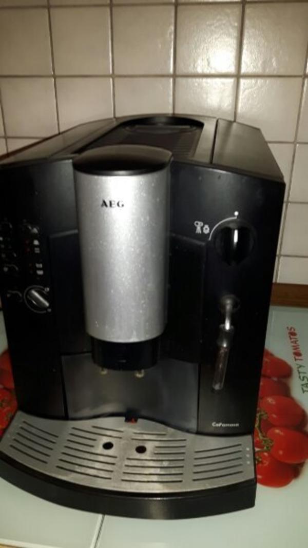kaffeevollautomat aeg famosa gebraucht kaufen nur 2 st bis 75 g nstiger. Black Bedroom Furniture Sets. Home Design Ideas