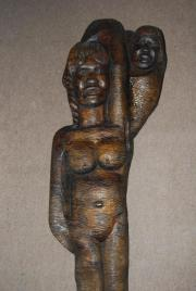 Afrika Statue Skulptur Deko Frau