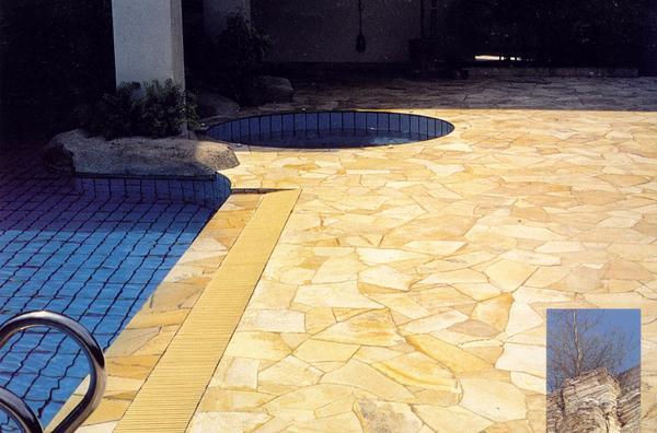 AKTION PolygonalplattenNatursteineTerrassenplattenGehwegplatten - Terrassenplatten 20mm stark