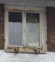Alte Fensterflügel zur