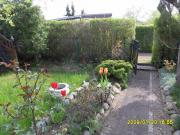Altershalber Garten mit