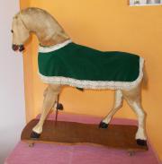 Altes Antikes Schaukel Pferd - unrestauriert -