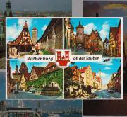 Ansichtskarte aus Rothenburg ob der