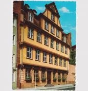 Ansichtskarte Goethehaus Frankfurt am Main