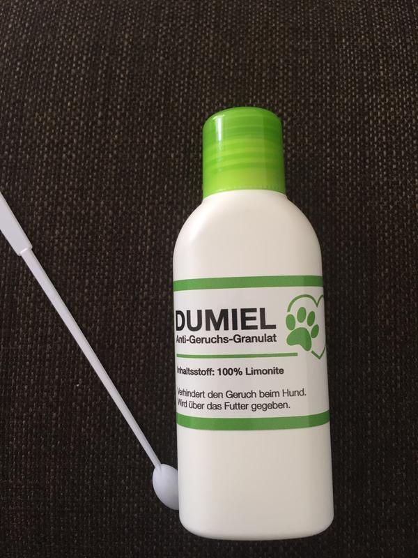 Anti Geruchs-Granulat für Hunde - Tamm - Anti-Geruchs-Granulat für Hunde, verhindert den Geruch bei Hunden, wird über das Futter gegeben. Neu und unbenutzt. - Tamm