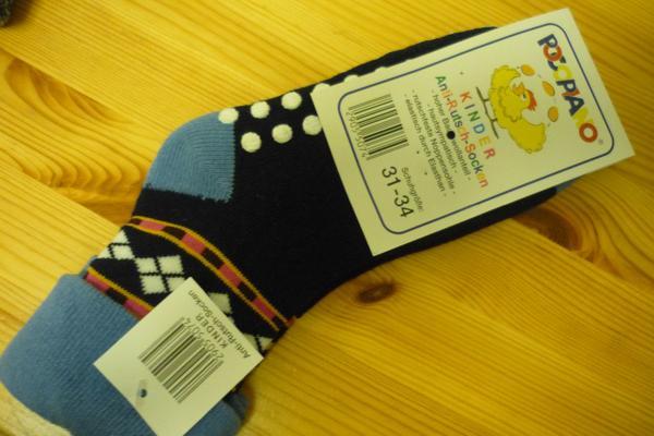 Anti-Rutsch-Socken (31-34 ) - Bremen Borgfeld - Anti-Rutsch-Socken, unbenutzt, 2,50 Euro- Gr. 31-34 - Bremen Borgfeld
