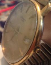 Antike Schweizer Armbanduhr.