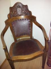 Antiker badischer Stuhl