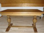 Antiker Couch Tisch verziert- höhenverstellbar gebraucht kaufen  Haßloch