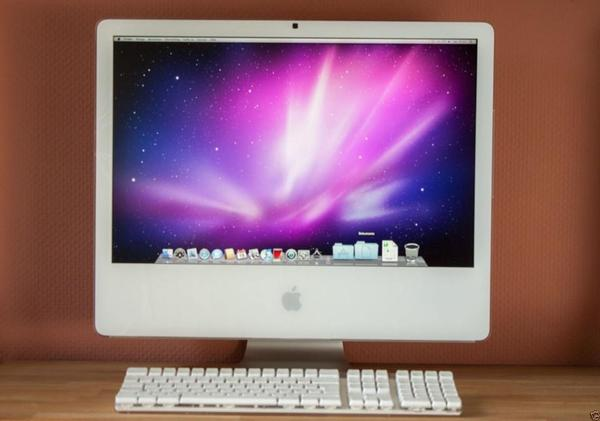 apple imac 24 39 1000 gb fp weiss einwandfreier bester. Black Bedroom Furniture Sets. Home Design Ideas