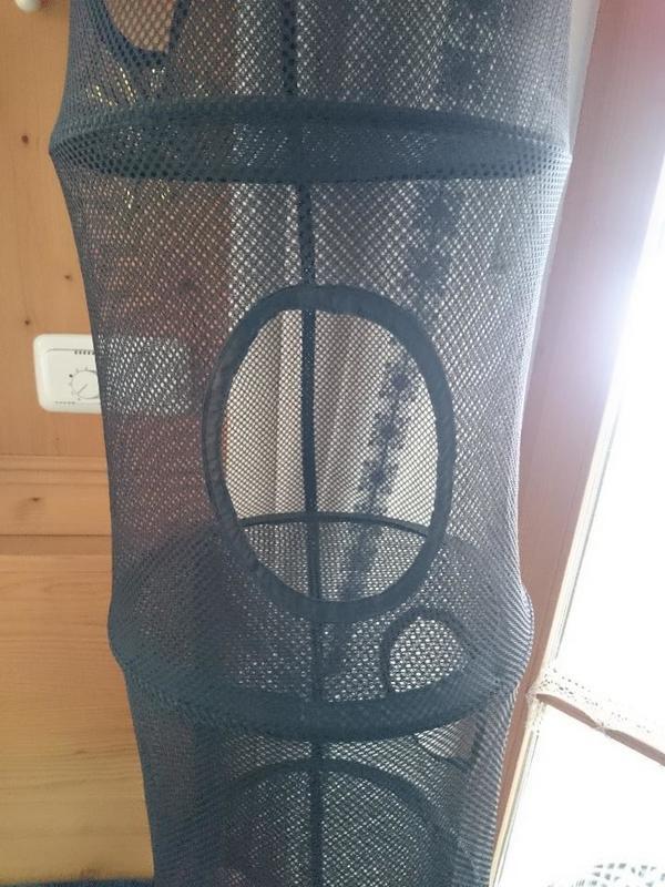 aufbewahrungssystem von ikea in schwarz 6 etagen in. Black Bedroom Furniture Sets. Home Design Ideas