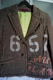 Außergewöhnliches Jackett Gr 38
