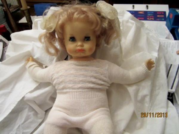 Babypuppe -Original 60er Jahre