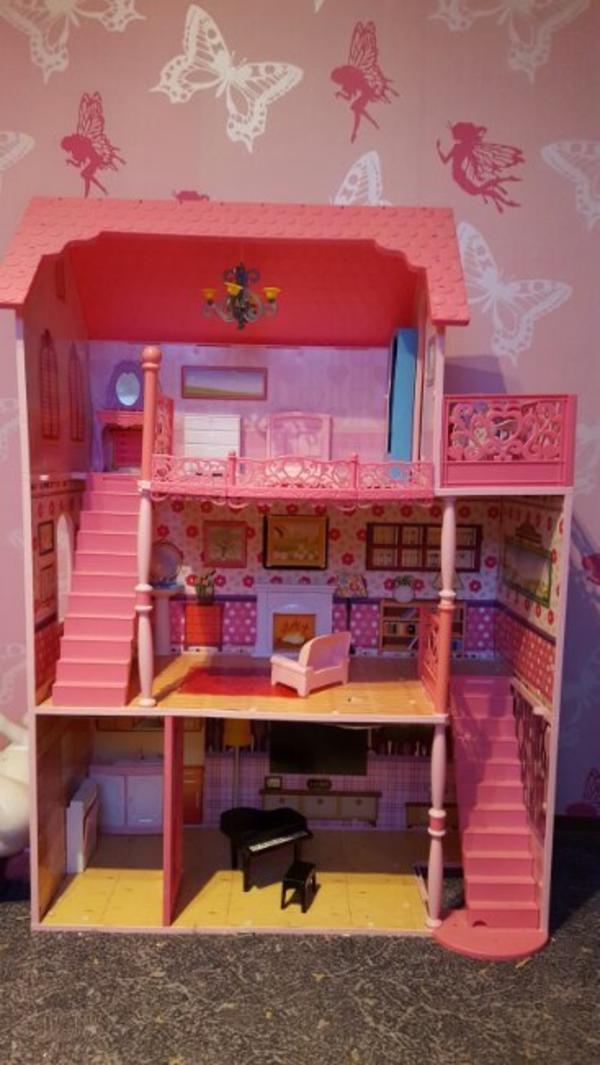 barbie haus kleinanzeigen spielzeug. Black Bedroom Furniture Sets. Home Design Ideas