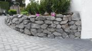 Basalt Natursteine Trockenmauer