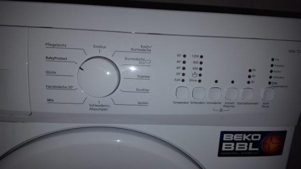 beko Waschmaschine - Herrenberg - due Waschmaschine ist 3 jahre alt daher keine Garantie wird verkauft wegen neuanschaffung (größere) funktioniert einwandfrei - Herrenberg