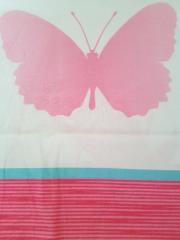 Bettwäsche Schmetterlinge bunt *