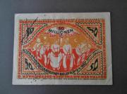 Bielefeld Notgeld Banknoten Inflationsgeld Alte Geldscheine
