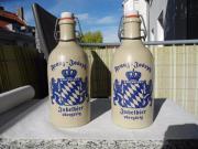 Bierflasche Steingut Jubelbier
