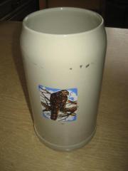 Bierkrug 2 Liter,