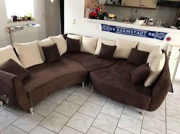 Big Sofa / Wohnlandschaft In Ober-Ramstadt - Polster, Sessel