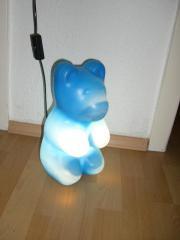 Blaue Bärchenlampe