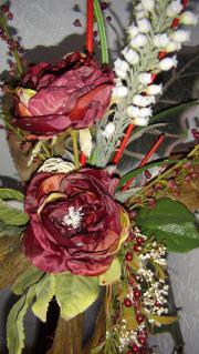 Blumegestecke rot-bardo