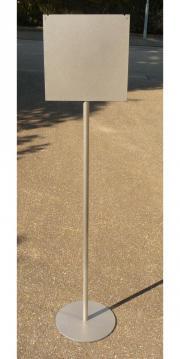 Bodenaufsteller mit Infotafel Hinweisschilder Warnschilder