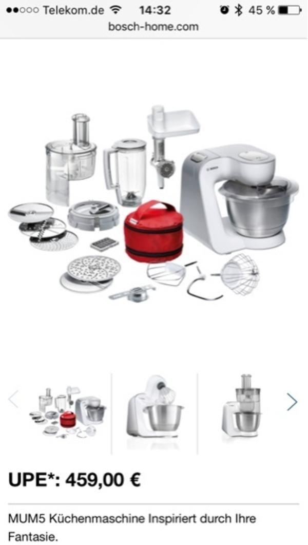 bosch küchenmaschine - neu und gebraucht kaufen bei dhd24