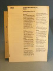 Braun CE 501 Tuner original