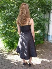 Braunes Abendkleid Gr.