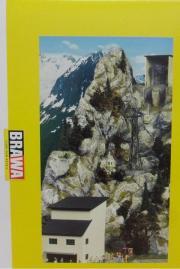 Brawa 6340 6341 Nebelhornbahn Gebäudesatz