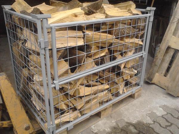 brennholz gitterbox in erfweiler holz kaufen und verkaufen ber private kleinanzeigen. Black Bedroom Furniture Sets. Home Design Ideas