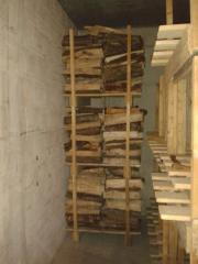 Brennholz Lagerpaletten Holz