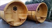 Campingfass, Schlaffass, Campingpod,