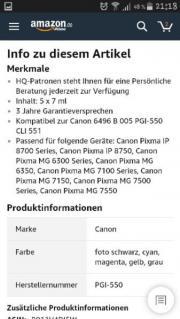 Canon Druckertreiber Farbe