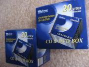CD + DVD Ersatzleerboxen