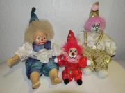 Clown Puppe 3-