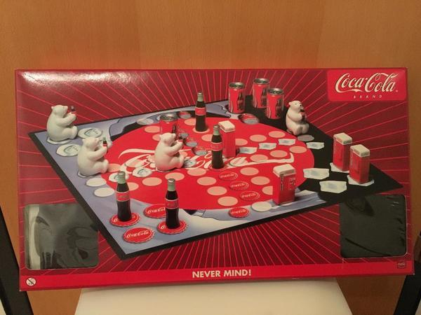 coca cola 39 mensch rger dich nicht spiel 39 sonderedition in schlins gesellschaftsspiele kaufen. Black Bedroom Furniture Sets. Home Design Ideas