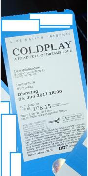 Coldplay München 06.