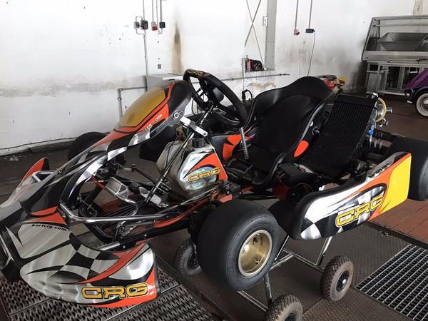 crg rennkart 125ccm in hamburg karts rennwagen kaufen. Black Bedroom Furniture Sets. Home Design Ideas