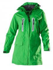 Damen-Outdoor-Langjacke grün Modell Arnauti Women