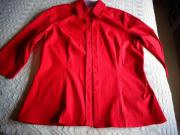 Damenbekleidung Bluse Gr 38 rot